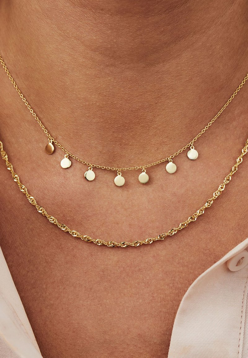 Selected Jewels - Necklace - gold