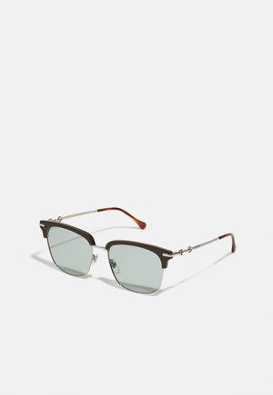 UNISEX - Lunettes de soleil - brown/silver-coloured/blue