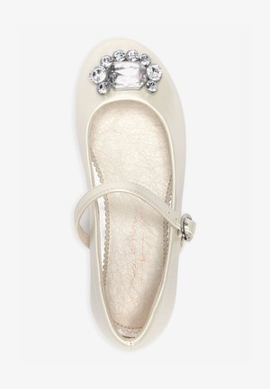 MARY JANE  - Ankle strap ballet pumps - off-white