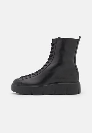 BUFF - Lace-up ankle boots - schwarz