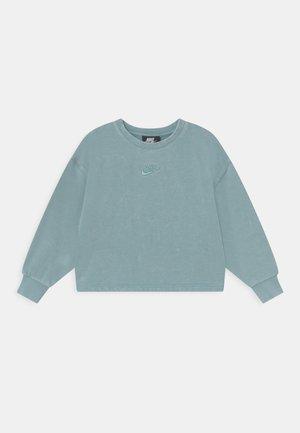 WASHED CREWNECK - Sweatshirt - blue