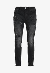 Kings Will Dream - KINGS WILL DREAM ROCKET CARROT FIT JEANS  - Slim fit jeans - black - 4