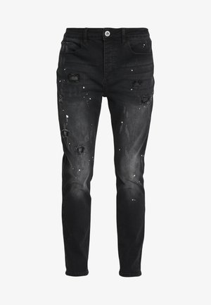 KINGS WILL DREAM ROCKET CARROT FIT JEANS  - Slim fit -farkut - black