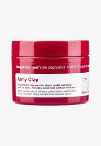 ARMY CLAY 80ML - Hair styling - -