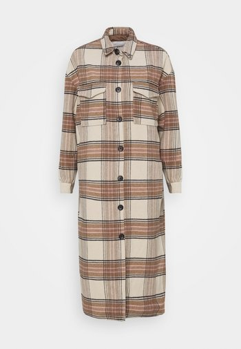 ONLLOLLY LONG CHECK COAT