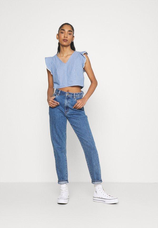 Molly Bracken LADIES - T-shirt z nadrukiem - light denim/niebieski PNVS
