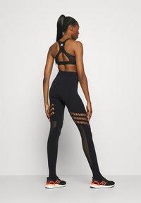 adidas by Stella McCartney - TRUESTR - Leggings - black - 2
