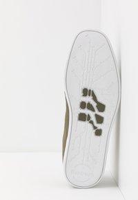 Boxfresh - SPARKO - Sneakers laag - khaki/turquoise - 4