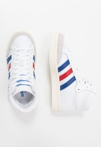 adidas Originals - AMERICANA - Sneakers alte - footwear white/collegiate royal/scarlet - 1