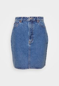 Monki - MIMMIE SKIRT - Kokerrok - blue medium dusty - 4