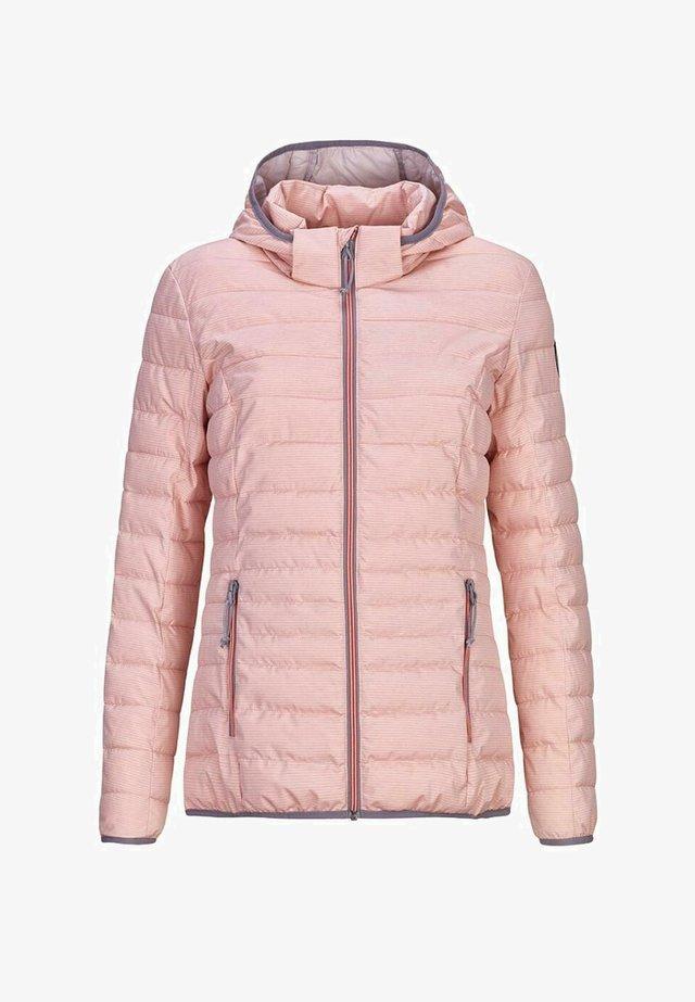 UYAKA - Winter jacket - hellkoralle