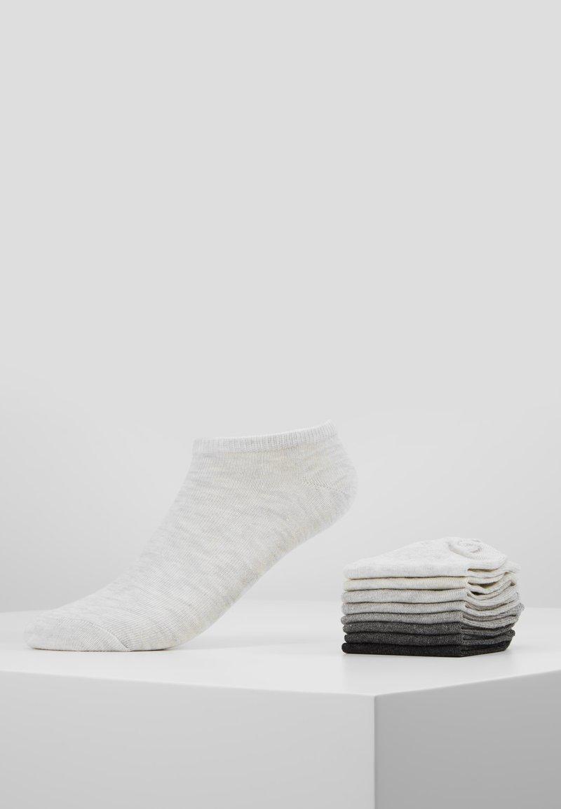Anna Field - 8PP SNEAKER SOCKS  - Sokker - grey