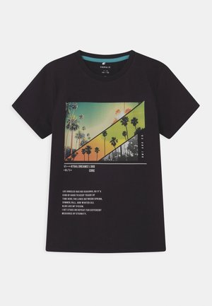 NKMHABEN  - Print T-shirt - black