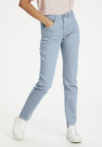 Cream - Slim fit jeans - dusty blue - 0