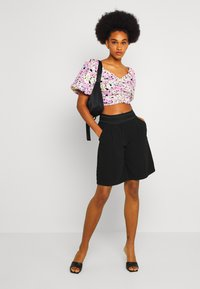 ONLY - ONLALEX LIFE LONG - Shorts - black - 1