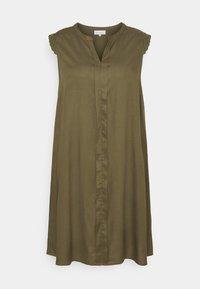 ONLY Carmakoma - CARMUMI KNEE DRESS - Day dress - grape leaf - 0