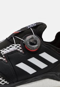 adidas Performance - TERREX AGRAVIC BOA - Trail running shoes - core black/crystal white/solar red - 5