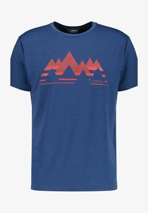 Print T-shirt - rauch