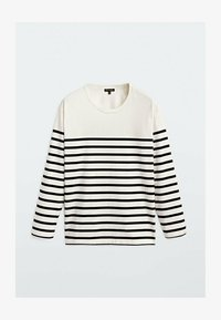 Massimo Dutti - T-shirt à manches longues - white - 0