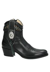 Sendra - Cowboy-/Bikerlaarsjes - zwart - 5