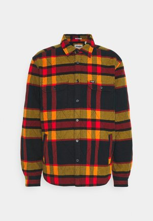 LS PADDED OVERSHIRT - Tunn jacka - flame red