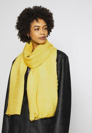 AKASTA SCARF - Scarf - yellow