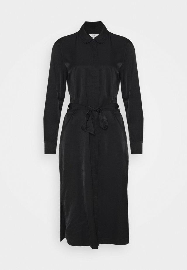 OBJEILEEN DRESS - Shirt dress - black