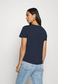 Tommy Jeans - SOFT TEE - T-shirt basic - navy - 2