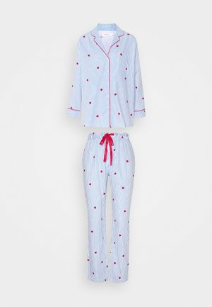LONG SLEEVES MASCULINE SET - Pyjama set - blue