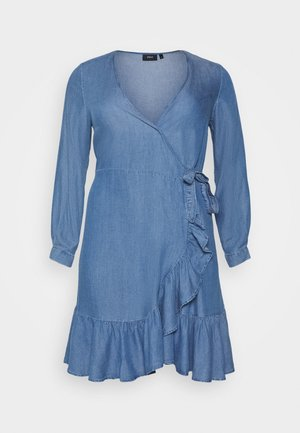 MDYA DRESS - Day dress - mid blue denim
