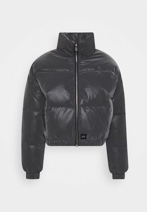 REFLECTIVE SHORT JACKET - Winter jacket - black