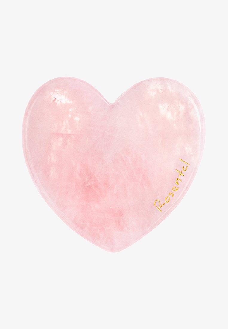 Rosental Organics - THE LOVE GUA SHA - Accessoires soin du corps - rose