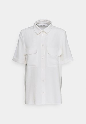 CAMILA SHIRT - Button-down blouse - eggnog