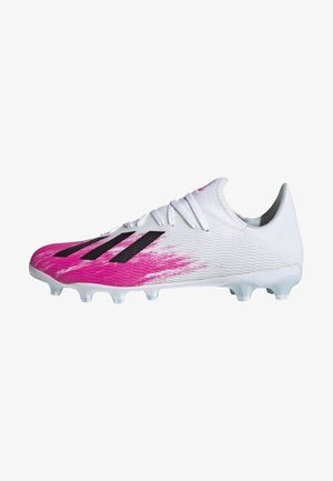 19.3 MULTI-GROUND BOOTS - Moulded stud football boots - white