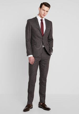 NEWTOWN SUIT - Kostuum - dark brown