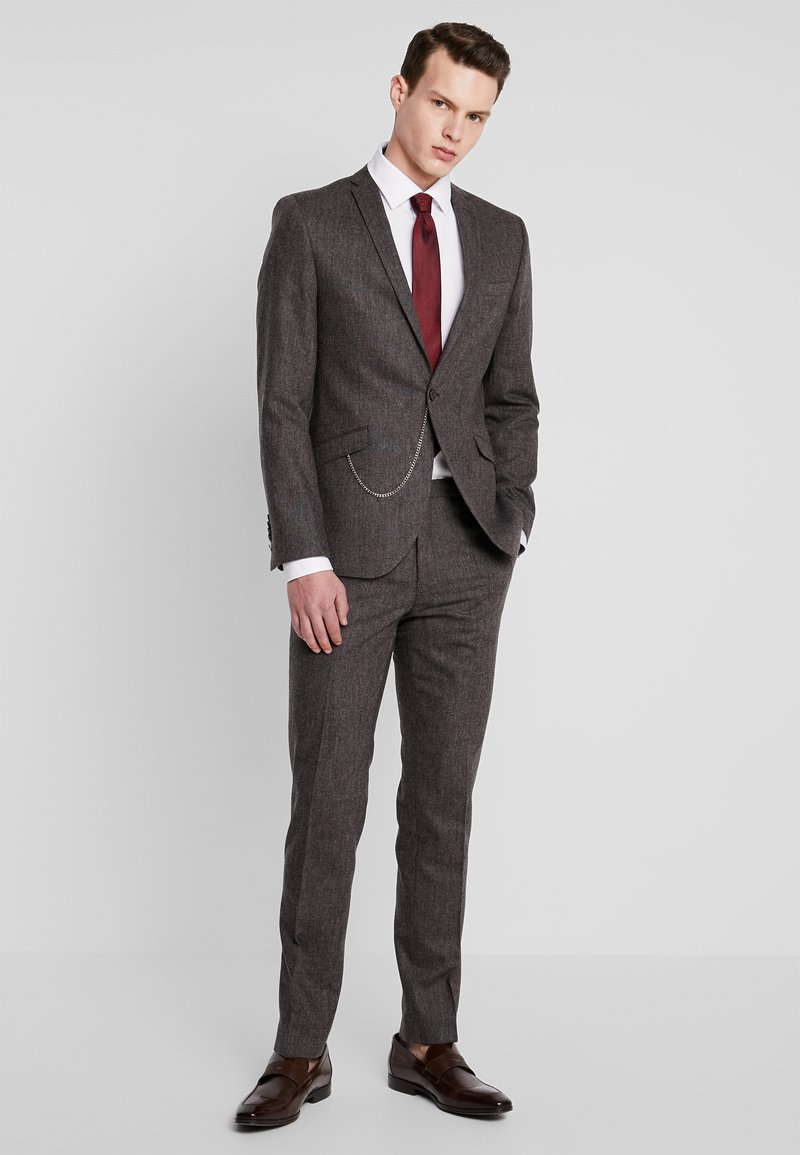 Shelby & Sons - NEWTOWN SUIT - Completo - dark brown