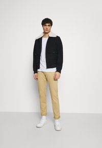 s.Oliver - Trousers - beige - 1