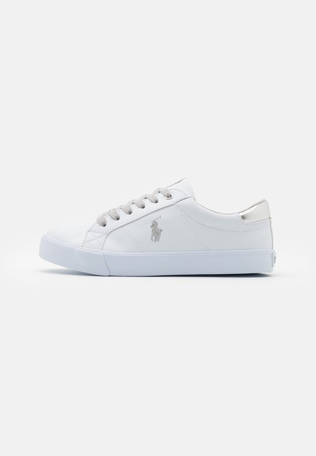 EVANSTON - Sneakers basse - white/silver metallic/silver