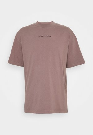 BOXY TEE - T-shirt imprimé - faded brown