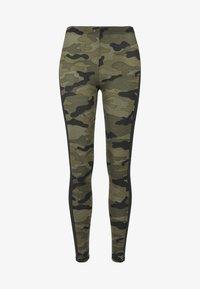 Urban Classics - Leggings - Trousers - woodcamo/blk - 3