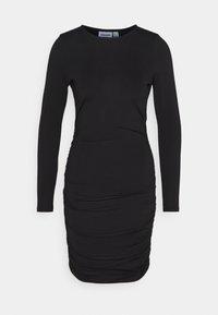VMNEXT SHORT DRESS - Shift dress - black