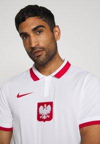 Nike Performance - POLEN - Koszulka reprezentacji - white/sport red - 3