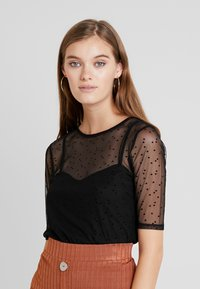 mint&berry - Print T-shirt - black - 0
