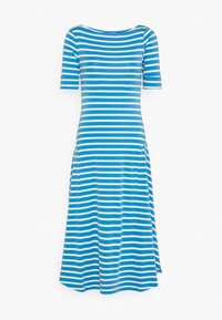 Lauren Ralph Lauren - Jersey dress - captain blue/white - 5