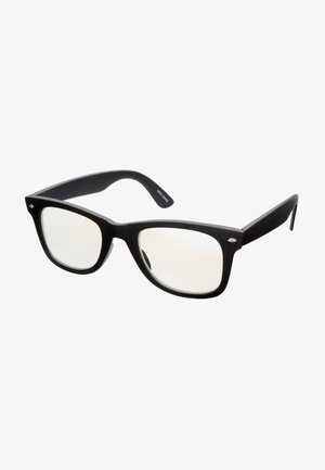 ISTANBUL BLUE LIGHT GLASSES - Sunglasses - rubber black