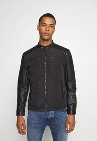 Only & Sons - ONSMATT MIX JACKET - Lehká bunda - black - 0