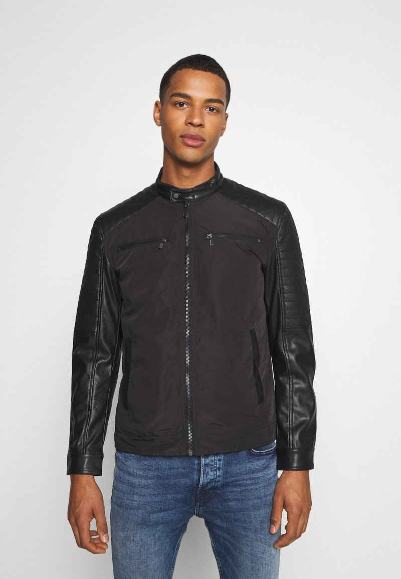 Only & Sons - ONSMATT MIX JACKET - Lehká bunda - black