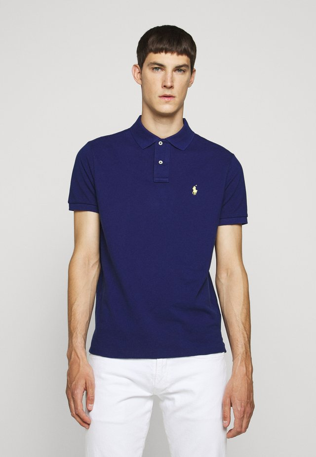 BASIC  - Polo - royal blue