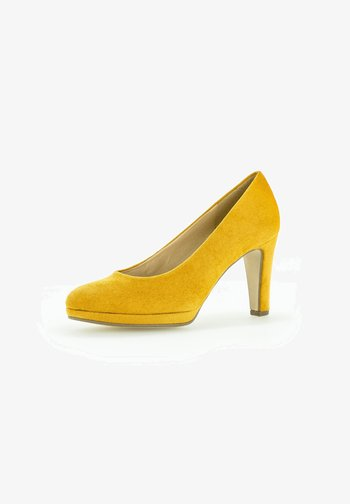 ELEGANTER  - High heels - curry