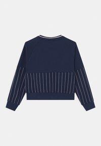 Fila - DEMI TAPED CREW NECK - Sweatshirt - black iris - 1
